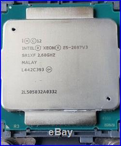 Intel Xeon 14-Core Processor E5-2697V3 2.6GHZ 35MB 9.6GT/S CPU SR1XF E5-2697 v3