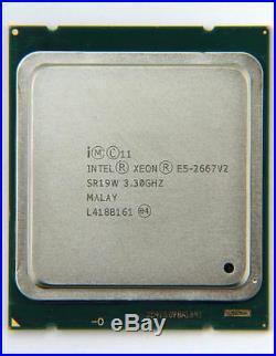 Intel Xeon Processor SR19W E5-2667 v2 8-Core 25M Cache 3.30GHz 130W 8GT/s