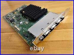 LSI 9201-16e 6Gbps 16-lane external SAS HBA P20 IT Mode ZFS FreeNAS unRAID NoROM