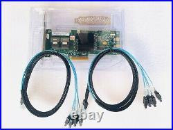 LSI 9240-8i 6Gbps SAS HBA FWP20 9211-8i IT Mode ZFS FreeNAS unRAID 2 SFF SATA