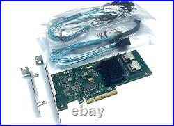 LSI Broadcom 9211-8i 6Gbps SATA SAS HBA Controller IT-Mode inkl. 2x Kabel 0,5m