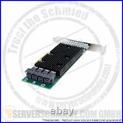 LSI SAS 9400-16i PCIe x8 4x SFF-8643 12G SAS3 NVMe HBA HDD SSD NVMe JBOD Tri-Mod