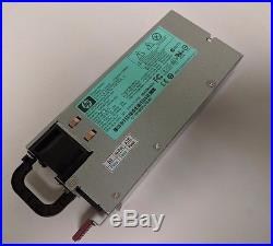 Lot of (2) HP 500172-B21 498152-001 438203-001 HSTNS-PL11 G7 1200W Power Supply