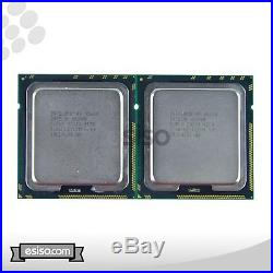 Lot of 2 MATCH PAIR SLBV3 INTEL XEON X5650 6 CORE 2.66GHz 12MB 6.40GT/s 95W PROC