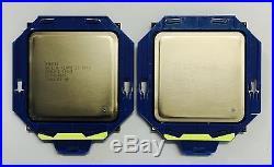 Matched Pair Intel Xeon E5-2690 V1 2.9GHz Turbo 3.8GHz 8 Core 20M Cache SR0L0