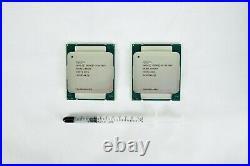 Matching Pair Sr20z Intel Xeon E5-2678v3 2.50ghz 30m 12 Cores 5gt/s 120w