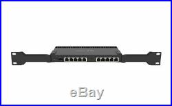 MikroTik RB4011iGS+RM 10xGigabit Quad-core 1.4Ghz CPU 1GB RAM SFP+ 10Gbps cage