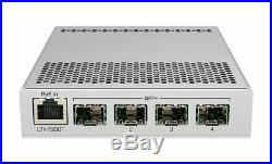 Mikrotik CRS305-1G-4S+IN Cloud Router Switch 4xSFP+ 1x GLAN PoE-In RouterOS L5