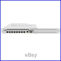 Mikrotik Desktop Switch 8 SFP+ Gigabit Ethernet Ports 10Gbps (CRS309-1G-8S+IN)