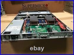 NEW CTO Server 1U 2x Xeon E5-2640 V3 2.4Ghz 8 Core 2x 10GB SFP+ Tyan S7076