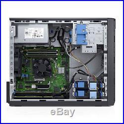 NEW DELL POWEREDGE T130 SERVER INTEL G4500 3 5GHz 16GB ECC