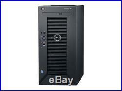 NEW DELL POWEREDGE T30 DESKTOP SERVER XEON E3-1225 v5 8GB 1TB HDD DVD+/-RW HDMI