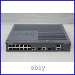 NEW Juniper Layer 3 12 Port Gigabit Network Switch PoE (EX2200-C-12P-2G)