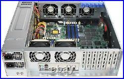 NEW Supermicro CSE-836TQ-R1200B X8DTH-iF 16-Bay LFF SAS2 SATA3 2x1200W 3U Chasis
