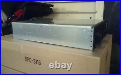 NORCO RPC-3116 3U Rackmount Server Case with 16 x SATA/SAS Hot-Swap Drive Bays