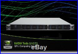 NVIDIA TESLA S1070 GPU COMPUTING SYSTEM WITH 4 X TESLA M1060 New No Power Supply