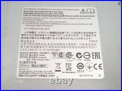 NetApp DS4246 24-Bay 4U SAS/SATA Disk Array 2IOM6 Controller 2580W+Caddies