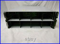 NetApp DS4246 Disk Array Shelf 24 Hard Drive Bay 3.5 2x IOM6 SAS SATA Expansion