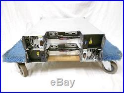 NetApp DS4246 Disk Array Shelf With 24x SAS Trays 2x IOM6 SAS Expansion Array