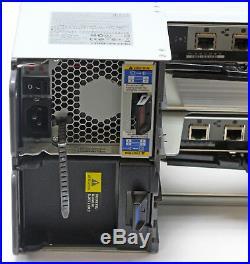 NetApp NAJ-0801 DS4243 24x 1.0TB TRAY CADDIES & CONNECTORS 2x IOM3 NO HDDs