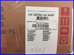 New 1U Supermicro SYS-1027GR-TRF Server Dual LGA2011 X9DRG-HF Rails Heatsinks