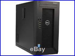 New Dell PowerEdge T30 Intel Xeon E3-1225 v5 8GB RAM 1TB HD Mini-Tower Server