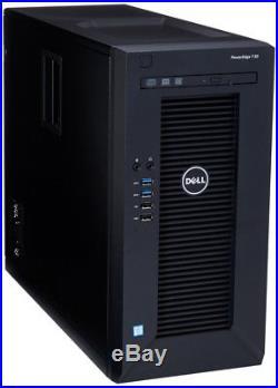 New Dell PowerEdge T30 Tower Server/Desktop Xeon E3-1225 v5 3.3GHz 8G 1TB DVD±RW