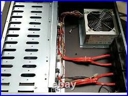 Norco DS-1220 12-Bay LFF 3.5 HDD Drive Array Chassis e-Sata Raid With Caddies