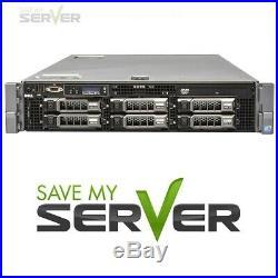Plex Media Server Dell PowerEdge R710 2.80GHz 8-Cores 32GB 8TB STORAGE