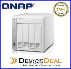 QNAP TS-431P 4 Bay Diskless NAS ARM Cortex-A15 dual-core 1.4GHz CPU