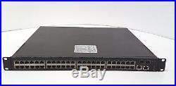 Quanta LB4M 48 port switch with 2 x 10GB SFP+ modules, 2 x PSU inc VAT