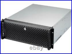 Rosewill 4U RSV-R4000U Rackmount Server Chassis 8 3.5 HDD Bays, 3 5.25 Inc