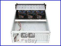 Rosewill RSV-L4412 4U Rackmount Server Chassis 12 SATA / SAS Hot-Swap Drives