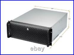 Rosewill RSV-L4500U Black Metal / Steel, 1.0mm thickness 4U Rackmount Server Cas