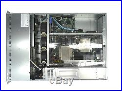 SUPERMICRO 2U 6026T-URF 2X E5506 825TQ-R700LPB CSE-825 X8DTU-F 8x TRAYS