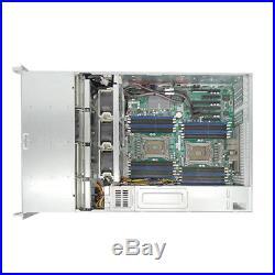SUPERMICRO 2U BAREBONE SERVER X9DRI-LN4F+ REV 1.20 12x Trays Add CPU/Ram/HDD