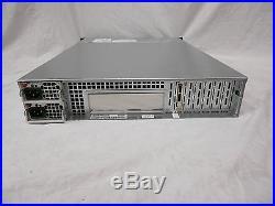 SUPERMICRO CSE-826 12 BAY 3.5 SATA SAS 2U Storage Server Array HDD JBOD JBPWR2