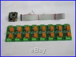 Scheda Internet / Ethernet 16 Canali Relè SNMP, WEB
