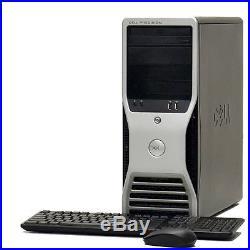 Super Fast Dell Workstation Computer PC Tower Core 2 Duo Precision T3400