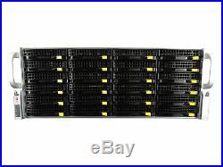 SuperMicro 4U CSE-846 24 Bay SAS2 BP with X9DRi-F/2x 2x E5-2630Lv2 16GB 9266-8i