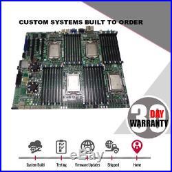 SuperMicro H8QGi-F Motherboard G34 Quad Opteron with 4x Opteron 6128, I/O sheild
