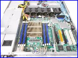 SuperMicro Server 10 Bay 2.5 SATA/SAS/SSD CSE-116 1U X9SRH-7F SAS-116TQ +Trays