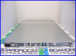 SuperMicro X8DTL-3F 1U Half Depth Server 2.5 SAS / SATA Homelab E5620 4Gb RAM