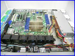 SuperMicro X8DTL-3F 1U Server 1026T-M3F 8 Bay 2.5 SAS /SATA SAS113TQ PWS-562-1H