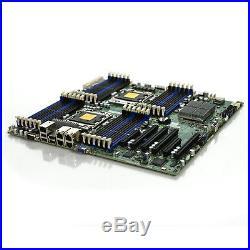 SuperMicro X9DRi-LN4F+ Motherboard Dual Socket R LGA2011 with IO Shield