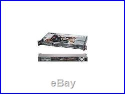 Superchassis Cse-505-203B 200W 1U Rackmount Server Chassis (Black)