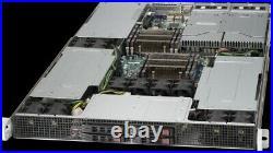 Supermicro 1U Server Mining 3 GPU Tesla Slot Xeon 20 Core 3.0Ghz Turbo 64GB Ram