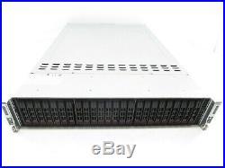 Supermicro 2026TT-DLRF 24 Bay Node X8DTT-HEF+ Intel E5620 2.4GHz 8GB RAM +Trays