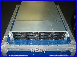 Supermicro 2U Server X9DRI-LN4F 2x E5-2640 2.5ghz 12 Cores / 16gb / SAS2-826EL1