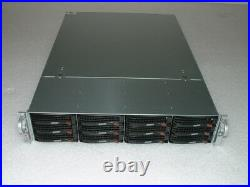 Supermicro 2U X8DT3 2x X5650 2.66ghz 12-Cores / 24gb Ram / 12x Trays / 2x720w